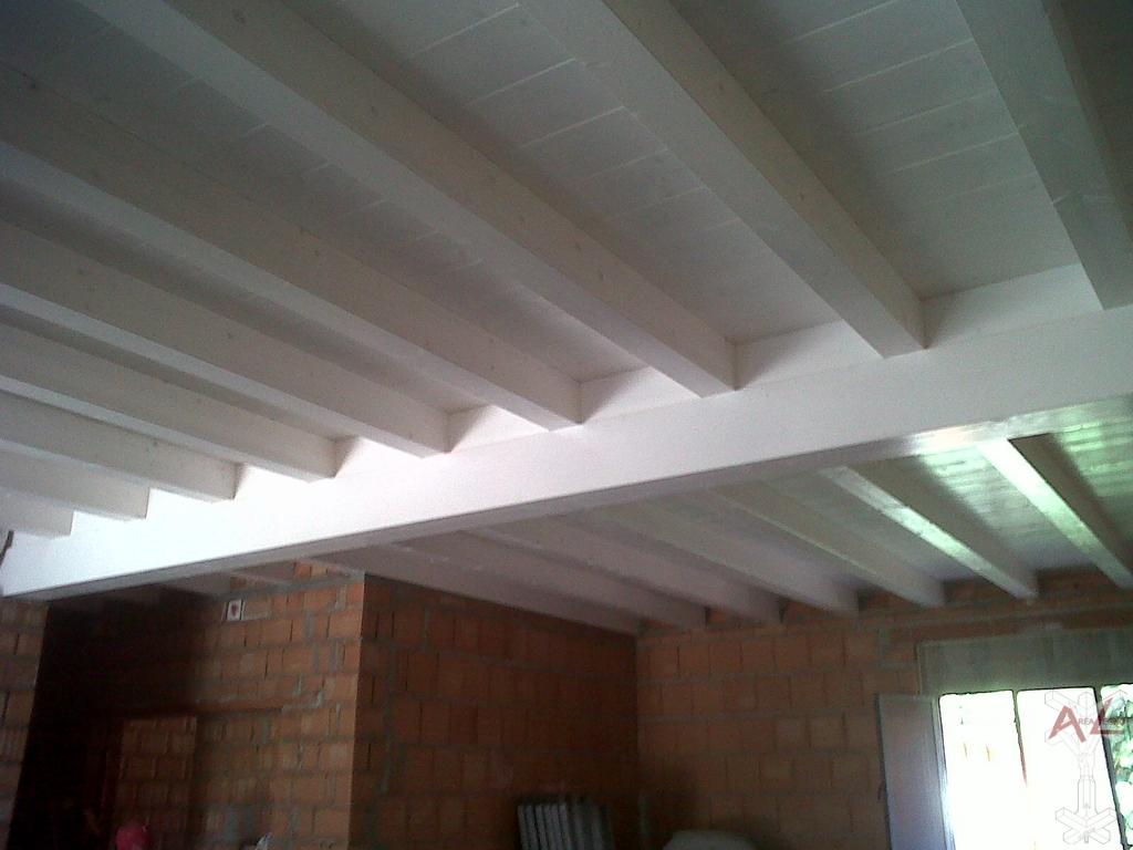 Tejados de madera cubiertas madrid for Tejados y cubiertas de madera